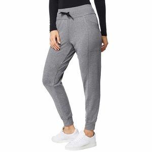 32 Degrees Ladies' Side Pocket Jogger heather grey